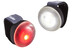 Cannondale Bumper - Set luces a pilas - Pair negro